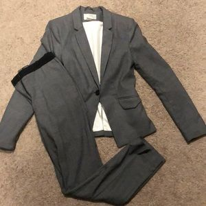 Gray suit from H&M